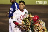 "<div class=""caption"">現役時は打率3割を11度記録し、2007年には2000安打を達成した前田智徳氏。</div>"