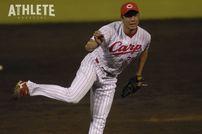 "<div class=""caption"">現役時代は歴代12位となる165セーブを記録した永川勝浩投手。今季からカープの一軍投手コーチを務めている。</div>"