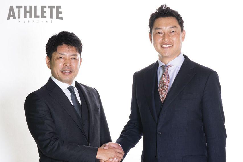 "<div class=""caption"">2006年シーズンオフに石原氏が新井氏に護摩行の同行を直訴するなど、公私にわたって付き合いが深かった。</div>"