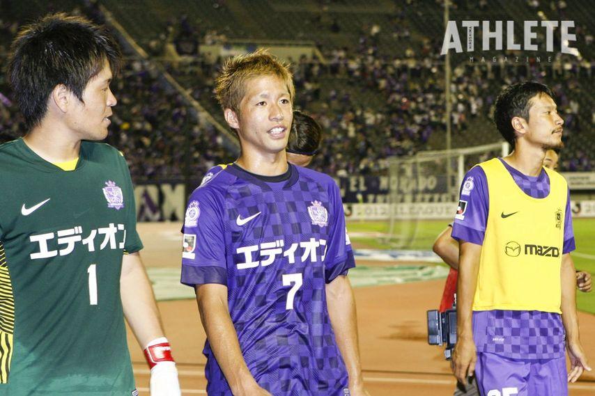 """<div class=""""caption"""">2016年限りで現役を引退した森﨑浩司氏。引退後はサンフレッチェの初代アンバサダーに就任した。</div>"""