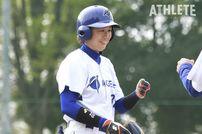 "<div class=""caption"">川端慎吾選手(ヤクルト)の妹である川端友紀選手。日本初の兄妹プロ野球選手として、現在はエイジェック女子硬式野球部で選手兼コーチを務めている。</div>"