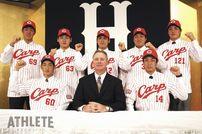 """<div class=""""caption"""">2007年のドラフトで、カープが小窪選手を大学生・社会人3巡目で指名。即戦力野手の期待をかけられての入団だった。</div>"""