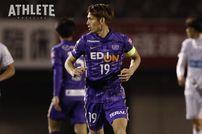 """<div class=""""caption"""">日本代表に選出された佐々木翔選手。G大阪戦は足の不調で今季初のベンチ外となった。</div>"""