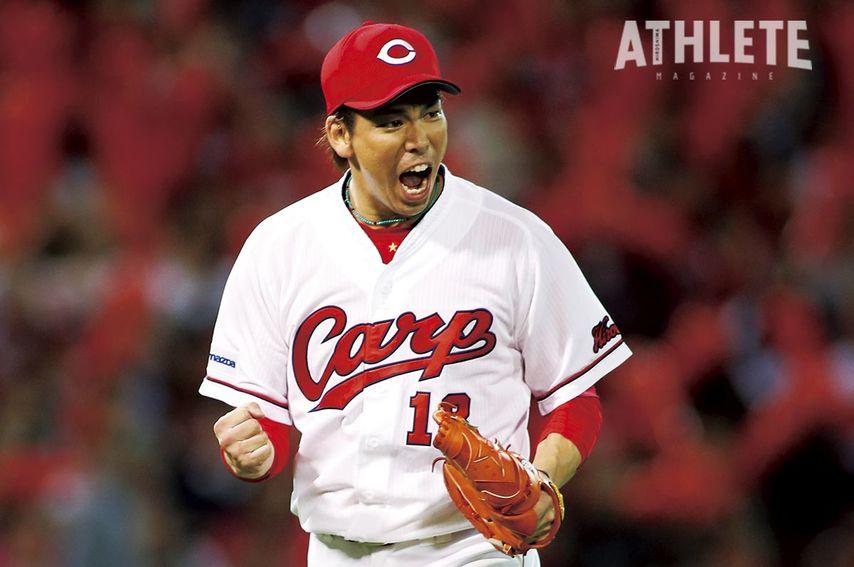 """<div class=""""caption"""">マエケンの相性でファンから愛された前田健太投手。</div>"""