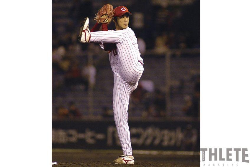 "<div class=""caption"">プロ17年間で165セーブを記録した永川勝浩投手。</div>"