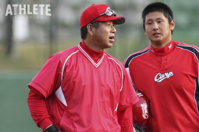 "<div class=""caption"">1990年代後半から左の浅井樹と共に代打の切り札として活躍した町田公二郎。引退後は阪神、カープで打撃コーチを務め、社会人野球・三菱重工広島硬式野球部の監督も務めた。</div>"