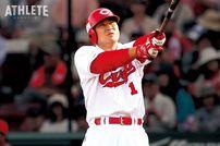 "<div class=""caption"">現役23年間で2119安打、生涯打率.302を記録した前田智徳。</div>"