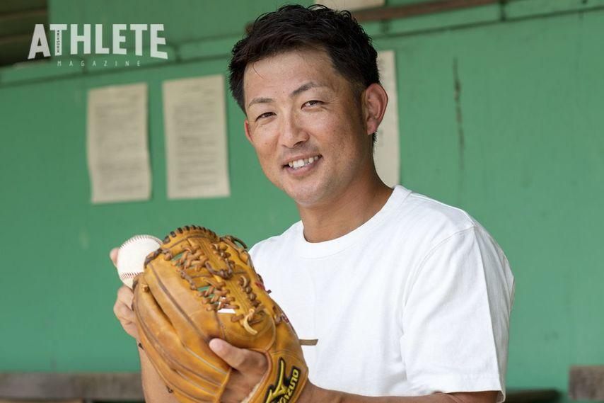 "<div class=""caption"">社会人野球3年目の25歳。松坂世代の梵英心氏が、地元球団のカープからドラフト指名を受けた。</div>"